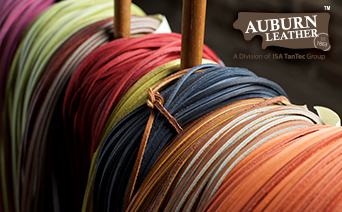 Auburn Leather Laces