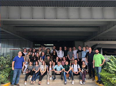 Students from Neatherlands Visited Saigon TanTec